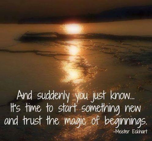 trust magic of beginning