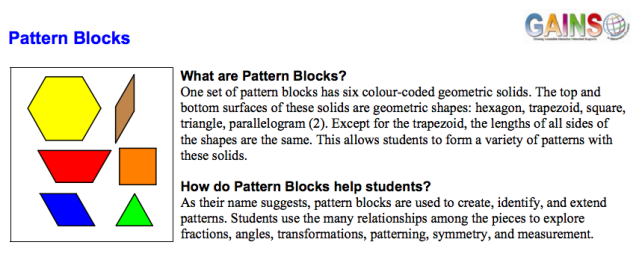 www.edugains.ca resources LearningMaterials ManipulativesSupport TipSheets Manipulatives_PatternBlocks.pdf