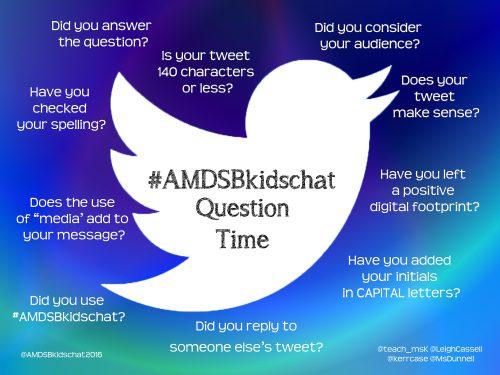 AMDSBKidsChat Update re: Twitter Rate Limit ExceededError