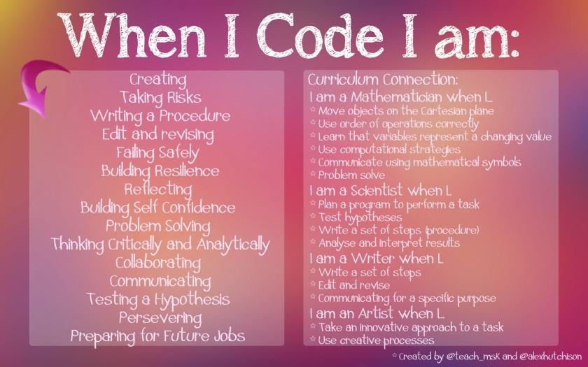 When I Code I Am