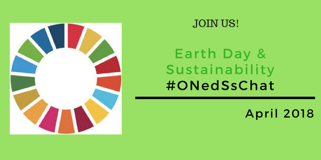 #ONedSsChat April: EARTH DAY