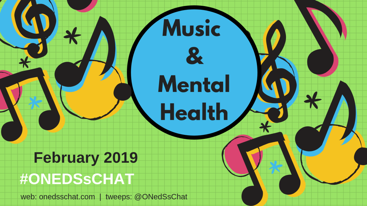ONedSsChat February 2019 – Music and Mental Health