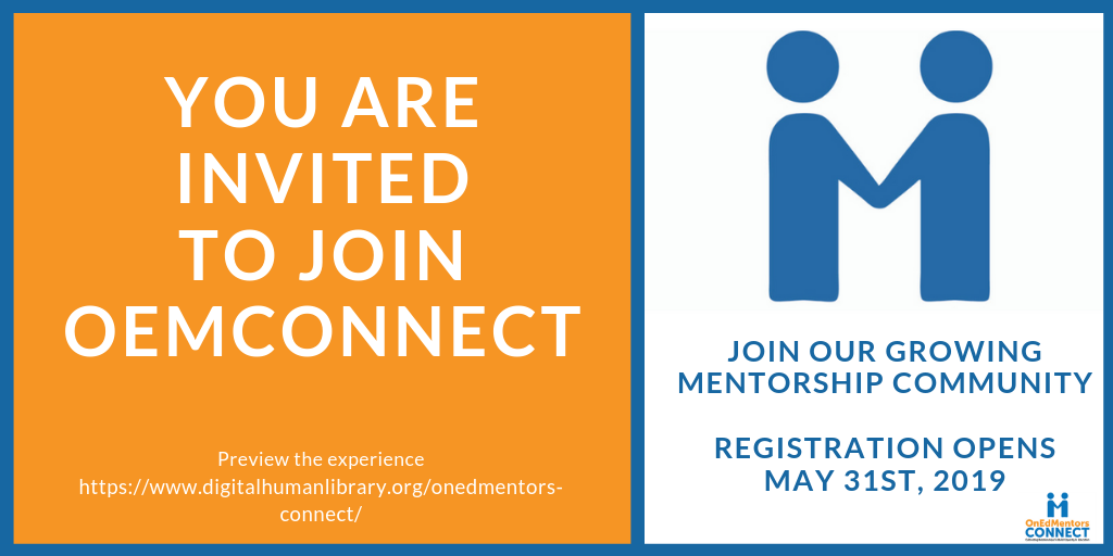 OnEdMentors is Now Open for Mentees!